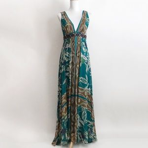 Nicole Miller Studio Multicolored Maxi Dress